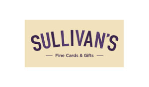 Kerry-Manfred-Professional-Voice-Actor-Sullivan's Card and Gifts-logo